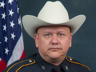 Mom of Suspect in Texas Deputy Darren Goforth's Killing Says He Was With Her