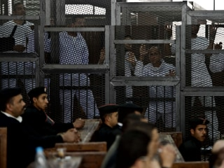 Egypt Court Sentences Al Jazeera Journalists to Three Years' Jail