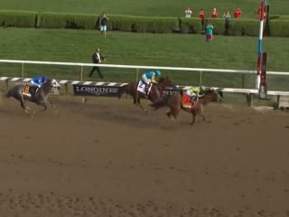 WATCH REPLAY: American Pharoah Upset by Keen Ice in Travers