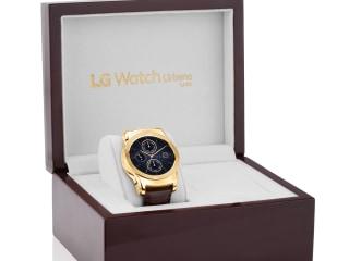 LG Just Dropped a $1,200 23-Karat Gold Smartwatch