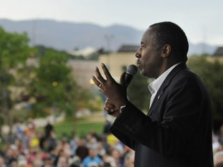 First Read: Ben Carson's Outsider Appeal