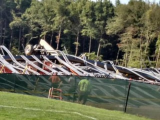 Six Hospitalized After Building Collapse At Bryant University