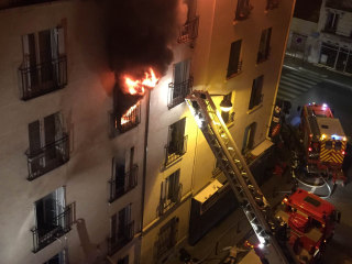 Paris Apartment Fire Leaves Eight Dead, Criminal Investigation Begins