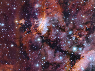 Prawn Nebula Photo Offers Glimpse of 'Cosmic Recycling'
