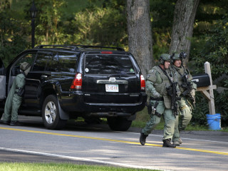 Gunman Still at Large, Schools Closed After Cop Car Fired On Near Boston