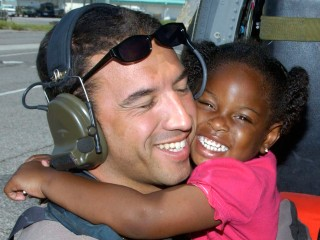 'Katrina Girl' Found: Air Force Vet to Reunite With Girl He Rescued 10 Years Ago