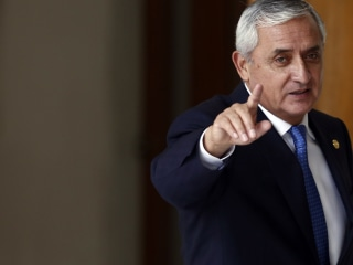 Guatemalan President Otto Perez Molina Ordered Detained in Corruption Probe