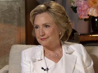 Hillary Clinton Tells NBC News She Is 'Sorry' for Email Confusion