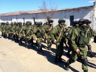 Russia Building Major Military Base Near Ukrainian Border: Report