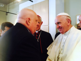 Cancer-Stricken Maryland Gov. Larry Hogan Receives Blessing From Pope Francis