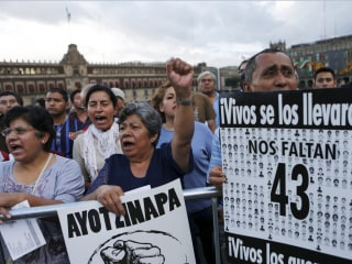 Mexico to Create New Prosecutor for Country's Disappeared