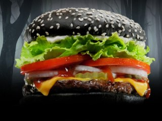 Burger King Launches Halloween Whopper with Black Bun