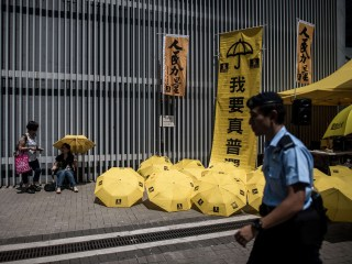 Hong Kong Protests Mark Umbrella Movement Anniversary