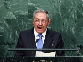 Cuba President Raul Castro Tweaks U.S. in United Nations Speech