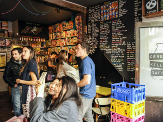 Something Snapped: Cereal Cafe a Flashpoint in Class-Riven London