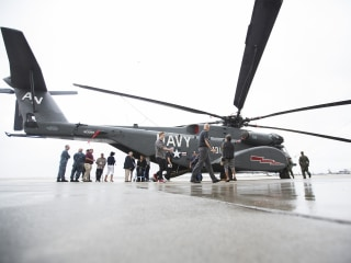 Navy Revives Squadron for Crash-Prone Sea Dragon Choppers