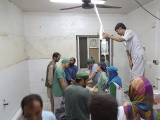 Doctors Without Borders Hospital in Kunduz Hit by Apparent U.S. Strike