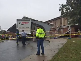 Truck Drives Into N.C. High School, Injuring 25 People in Roof Collapse