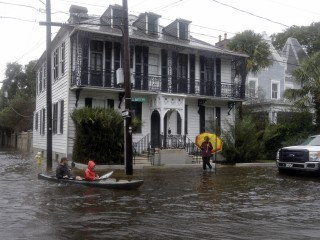 Flash Floods, 'Once in 200 Years Rainfall Event' Loom in South Carolina