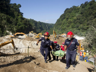 Hundreds Feared Dead as Families Mourn Victims of Guatemala Landslide