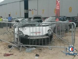 Porsche Supercar Flies Off Maltese Track, Injuring 26, Five Critically