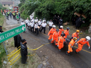 Hope Dims for Finding Survivors of Deadly Guatemala Mudslide