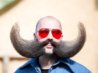 Contestants Dazzle at World Beard And Mustache Championships