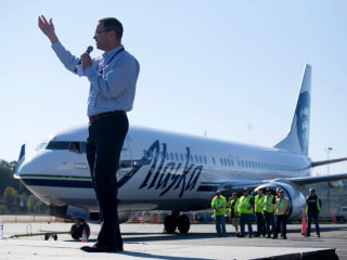 Alaska Airlines Loses Its Own CEO Brad Tilden's Luggage