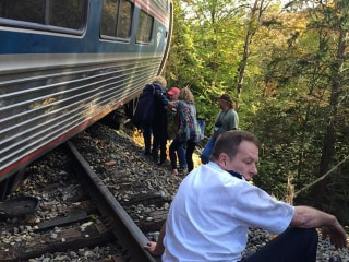 Amtrak Train Derails in Northfield, Vermont