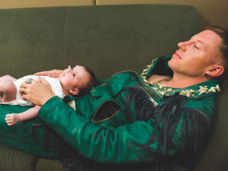 Macklemore Sleeps Alongside His Baby, Melts Hearts on Instagram