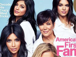 Kardashian Cosmopolitan 'First Family' Cover Sparks Backlash