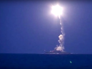 Russia Fires Missiles as Syria Launches Ground Offensive