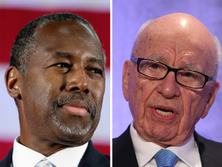 Rupert Murdoch: Ben Carson Would Be a 'Real Black President'