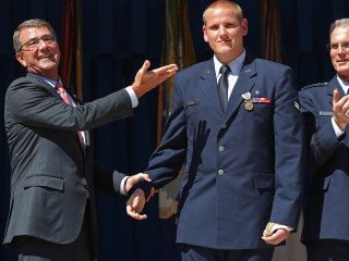 French Train Hero Spencer Stone 'In Good Spirits' After Stabbing