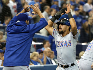 Rangers Beat Jays in Wild 14-Inning Game, Take 2-0 Lead in ALDS