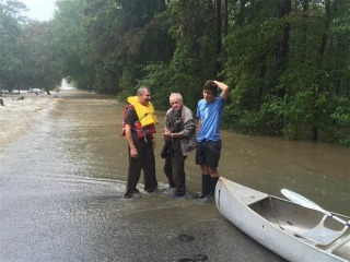 'Lifelong Friend': Family Rescues Man, Dog from Flood
