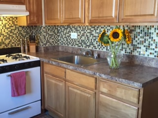 TODAY tests peel-and-stick backsplash tiles — and they're everything we hoped for