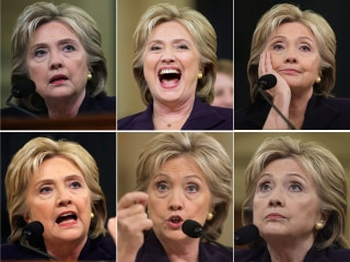 11-Hour Benghazi Hearing Brings Out the Many Faces of Hillary Clinton
