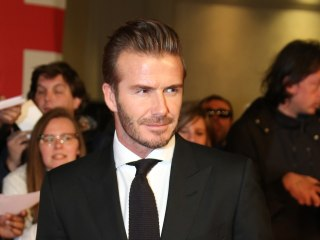 David Beckham Debuts New Neck Tattoo — See the Photo