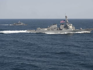 China calls U.S. warships in South China Sea 'a provocation'