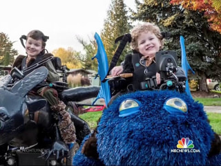 'Magical Wheelchair' Offers Unforgettable Halloween for Disabled Kids