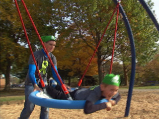 Inspired by Disabled Brother, Michigan Teen Builds Playground