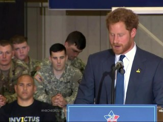 Prince Harry's Mission to Help Injured Veterans Comes to America