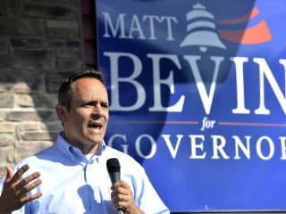 Matt Bevin's Win in Kentucky Governor Race Extends Party Dominance in South