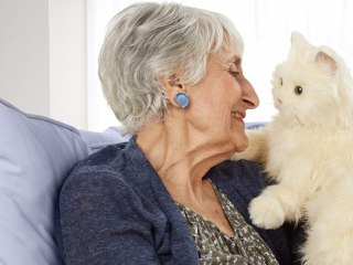 Is a Robotic Cat the Purr-fect Gift for Your Favorite Elder?