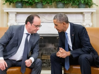 Paris Attacks: Obama, Hollande to Meet to Discuss War on ISIS