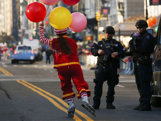Record Number of Cops Guard Macy's Thanksgiving Day Parade