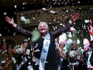 Broad Smiles, Enduring Spirit at Holocaust Survivors' Beauty Contest