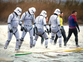 Stormtroopers Ride the Tide of New 'Star Wars' Movie
