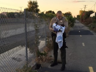 Deputies Find Newborn Girl Buried Alive Near Riverbed